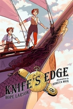 Book cover of KNIFE'S EDGE