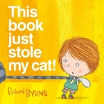 Book cover of THIS BOOK JUST STOLE MY CAT