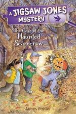 Book cover of JIGSAW JONES - HAUNTED SCARECROW