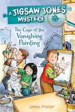 Book cover of JIGSAW JONES - VANISHING PAINTING