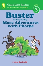 Book cover of BUSTER THE VERY SHY DOG - MORE ADVENTURE