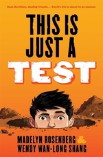 Book cover of THIS IS JUST A TEST