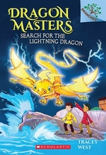 Book cover of DRAGON MASTERS 07 SEARCH FOR THE LIGHTNI
