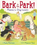 Book cover of BARK IN THE PARK POEMS FOR DOG LOVERS