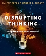 Book cover of DISRUPTING THINKING - WHY HOW WE READ MA