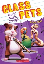 Book cover of CLASS PETS 02 FUZZY TAKES CHARGE