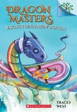 Book cover of DRAGON MASTERS 10 WAKING THE RAINBOW DRA
