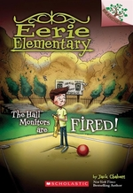 Book cover of EERIE ELEMENTARY 08 HALL MONITORS ARE FI