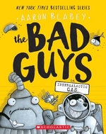 Book cover of BAD GUYS 05 INTERGALACTIC GAS