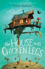 Book cover of HOUSE WITH CHICKEN LEGS