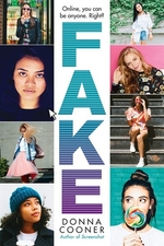Book cover of FAKE