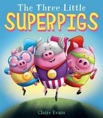 Book cover of 3 LITTLE SUPERPIGS