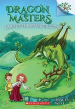 Book cover of DRAGON MASTERS 14 LAND OF THE SPRING DRA