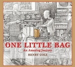 Book cover of 1 LITTLE BAG: AN AMAZING JOURNEY