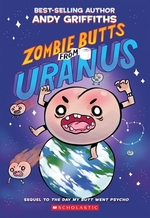 Book cover of ZOMBIE BUTTS FROM URANUS