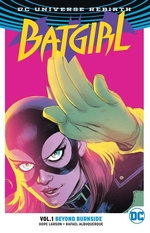 Book cover of BATGIRL 01 - BEYOND BURNSIDE REBIRTH