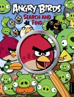 Book cover of ANGRY BIRDS - SEARCH & FIND