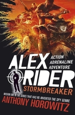 Book cover of ALEX RIDER 01 STORMBREAKER