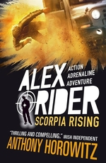 Book cover of ALEX RIDER 09 SCORPIA RISING