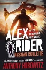 Book cover of ALEX RIDER 10 RUSSIAN ROULETTE
