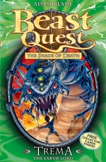 Book cover of BEAST QUEST TREMA THE EARTH LORD