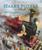 Book cover of HARRY POTTER & THE PHILOSOPHER - ILLUS