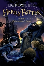 Book cover of HARRY POTTER & THE PHILOSOPHER'S STONE