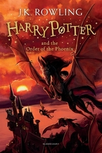Book cover of HARRY POTTER 05 ORDER OF THE PHOENIX