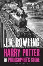 Book cover of HARRY POTTER 01 PHILOSOPHER'S STONE