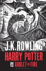 Book cover of HARRY POTTER 04 GOBLET OF FIRE
