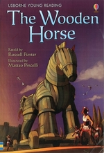 Book cover of USBORNE - WOODEN HORSE