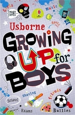 Book cover of GROWING UP FOR BOYS