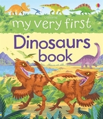 Book cover of MY VERY 1ST DINOSAURS BOOK