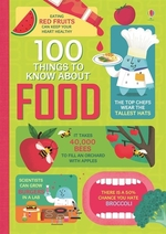 Book cover of 100 THINGS TO KNOW ABOUT FOOD