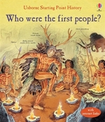 Book cover of WHO WERE THE 1ST PEOPLE