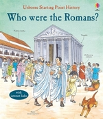 Book cover of WHO WERE THE ROMANS