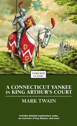 Book cover of CONNECTICUT YANKEE IN KING ARTHUR'S COUR