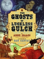 Book cover of GHOSTS OF LUCKLESS GULCH