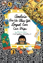 Book cover of AMELIA'S ARE-WE-THERE-YET- LONGEST CAR T