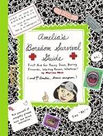Book cover of AMELIA'S BOREDOM SURVIVAL GUIDE