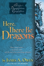 Book cover of HERE THERE BE DRAGONS