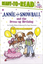 Book cover of ANNIE & SNOWBALL & THE DRESSUP BIRTH