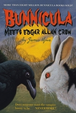 Book cover of BUNNICULA MEETS EDGAR ALLAN CROW