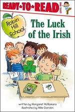 Book cover of LUCK OF THE IRISH