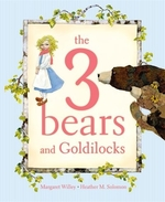 Book cover of 3 BEARS & GOLDILOCKS
