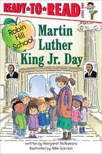 Book cover of MARTIN LUTHER KING JR DAY