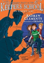 Book cover of KEEPERS OF THE SCHOOL 04 IN HARM'S WAY