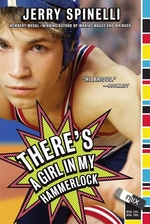 Book cover of THERE'S A GIRL IN MY HAMMERLOCK