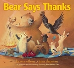 Book cover of BEAR SAYS THANKS
