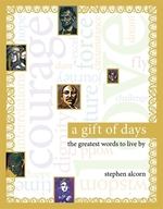 Book cover of GIFT OF DAYS - GREATEST WORDS TO LIVE BY